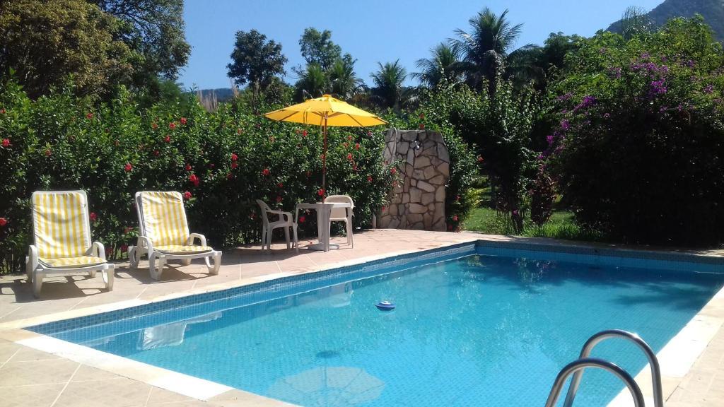 A piscina localizada em Sitio Terravida ou nos arredores