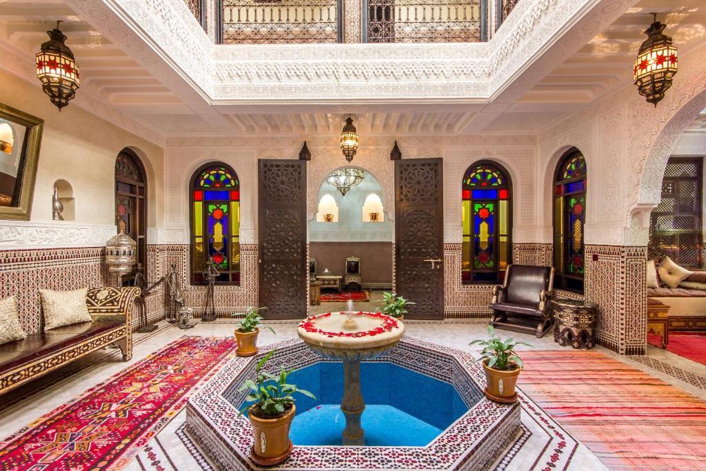 Piscine de l'établissement Riad Lamya Marrakech ou située à proximité