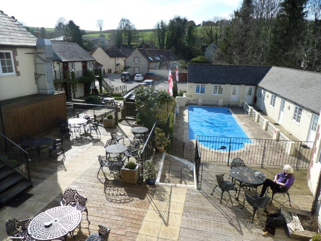 A view of the pool at The Poachers Inn or nearby