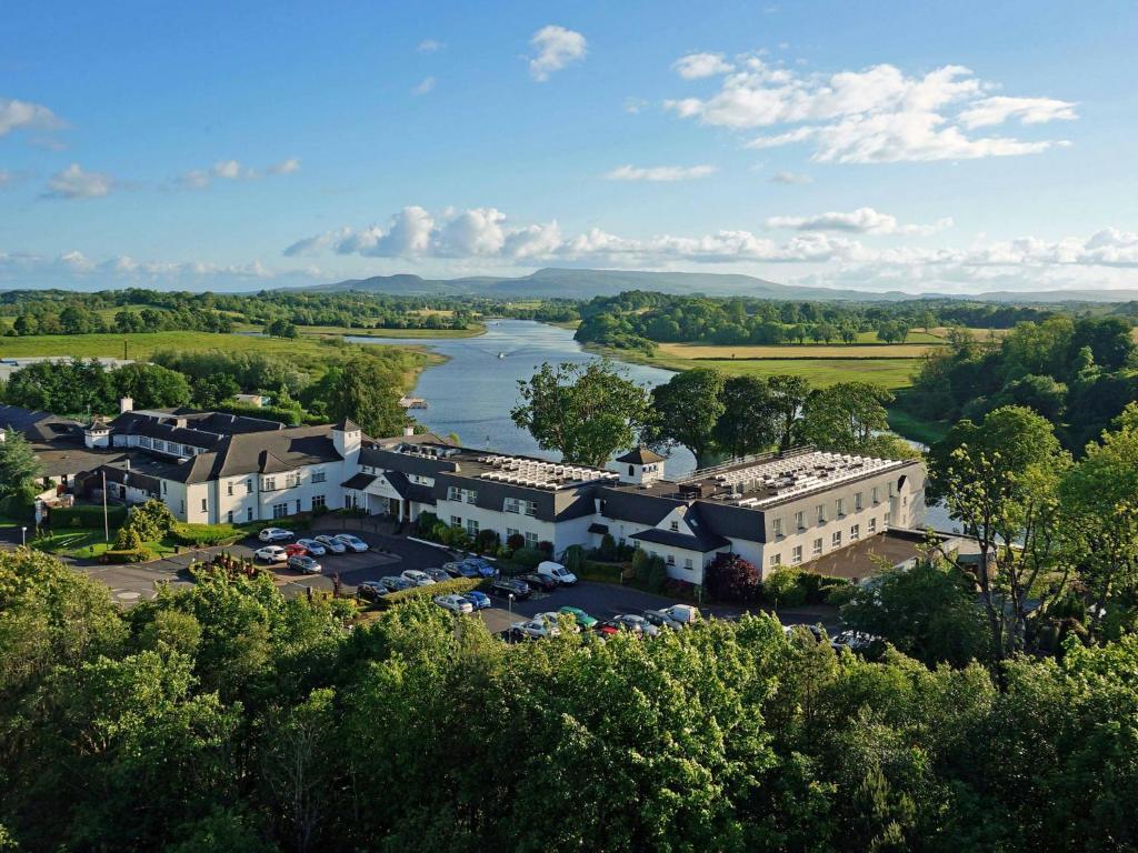 A bird's-eye view of Killyhevlin Lakeside Hotel & Lodges