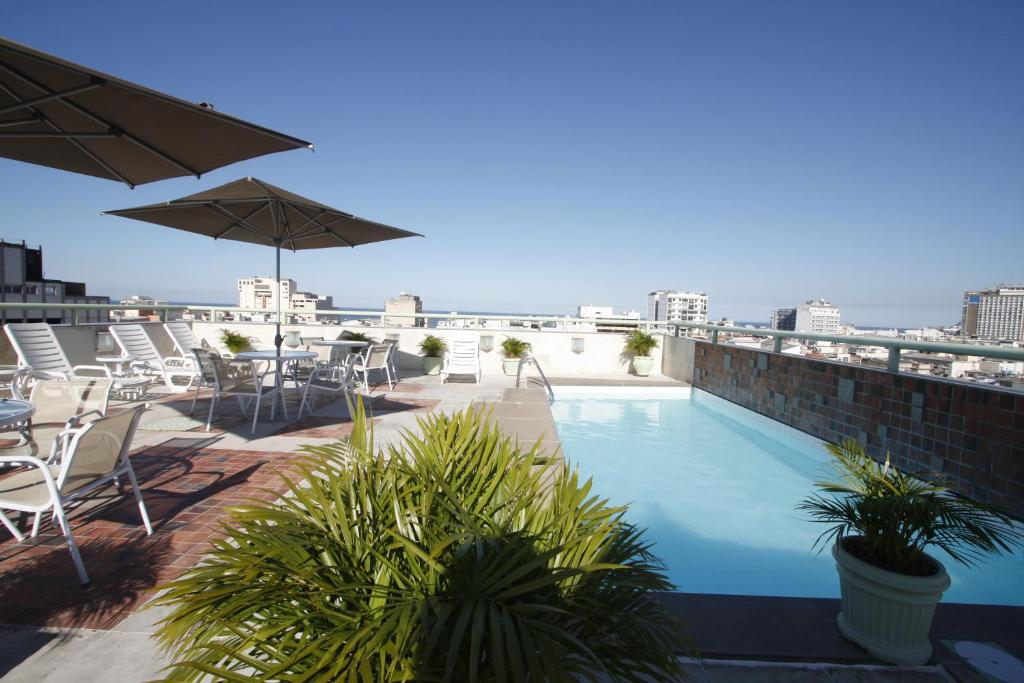 The swimming pool at or near Américas Benidorm Hotel
