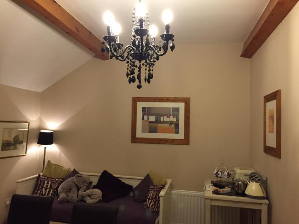 A seating area at Causeway Smithy B&B