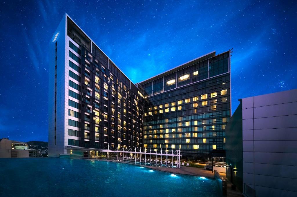 スタンリー ホテル & スイーツの敷地内または近くにあるプール