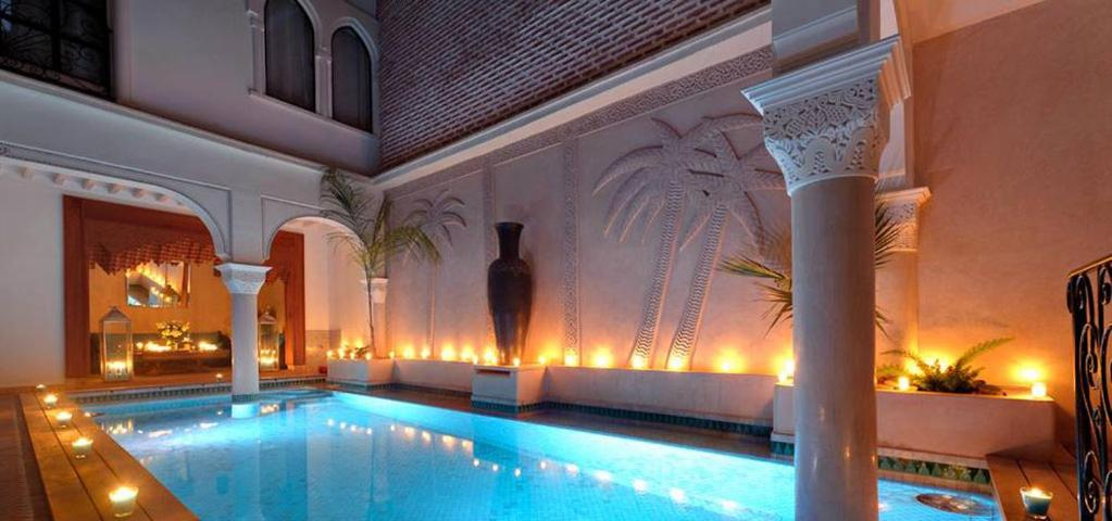 The swimming pool at or near Riad La Villa Marrakech