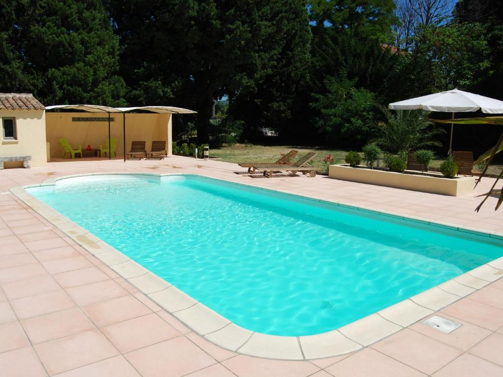 The swimming pool at or near Cozy Mansion in Provence France with Swimming Pool