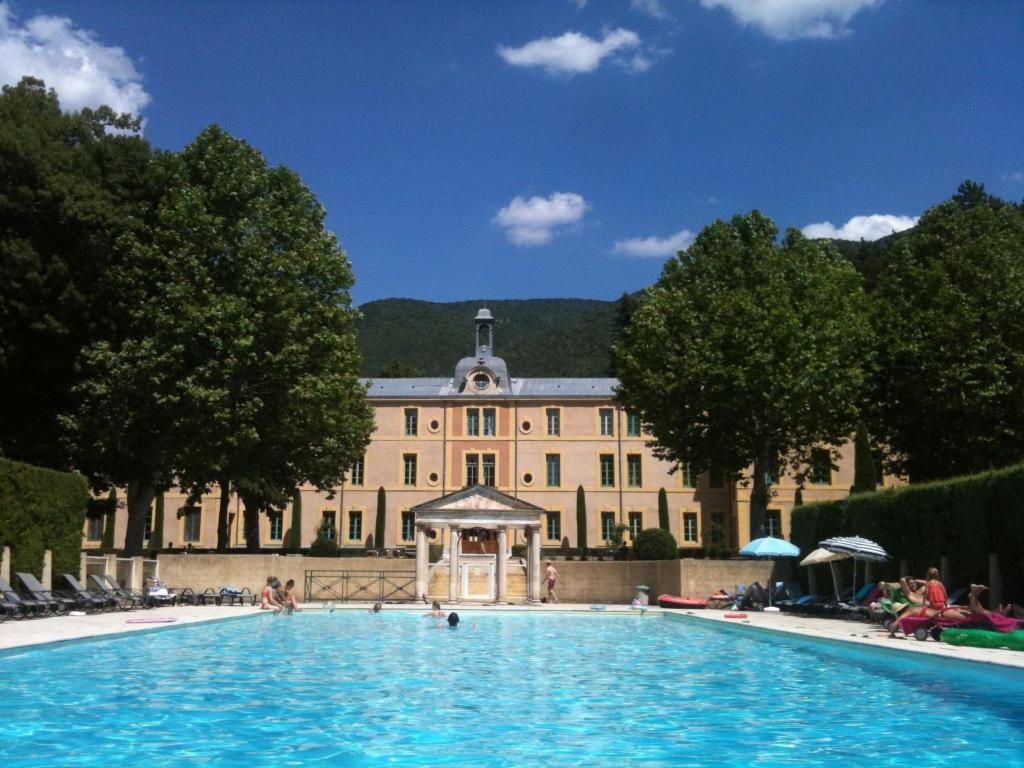 The swimming pool at or near Historic Castle in Montbrun-les-Bains with Pool