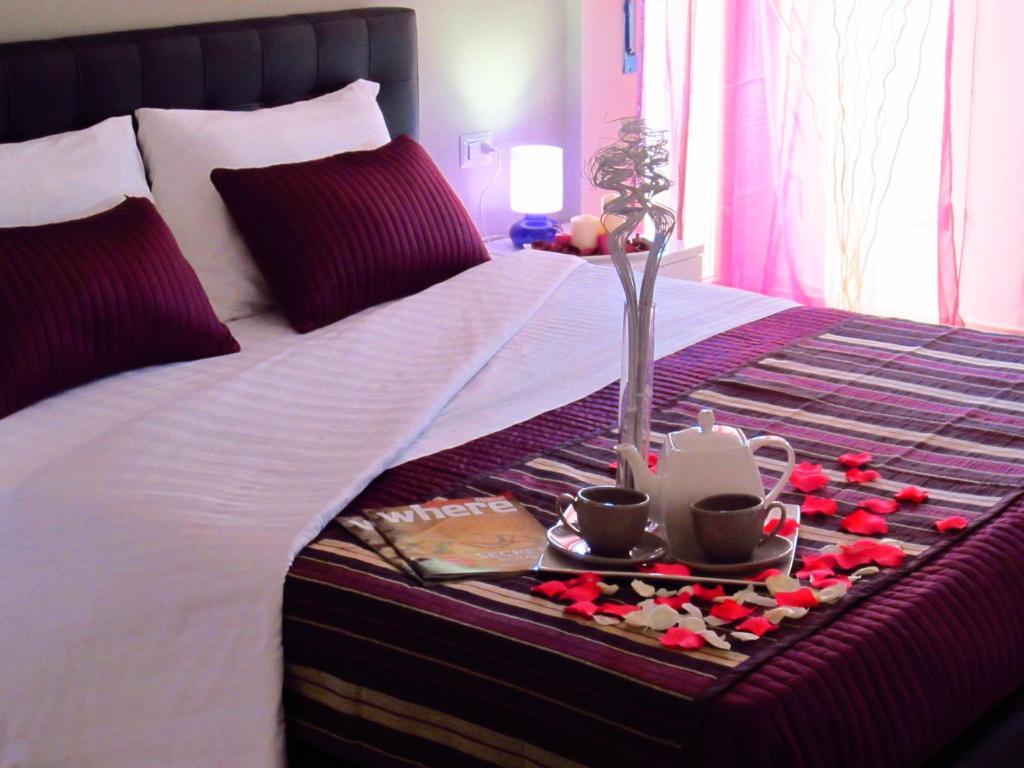 Cama ou camas em um quarto em Sleep And Fly Rome Airport