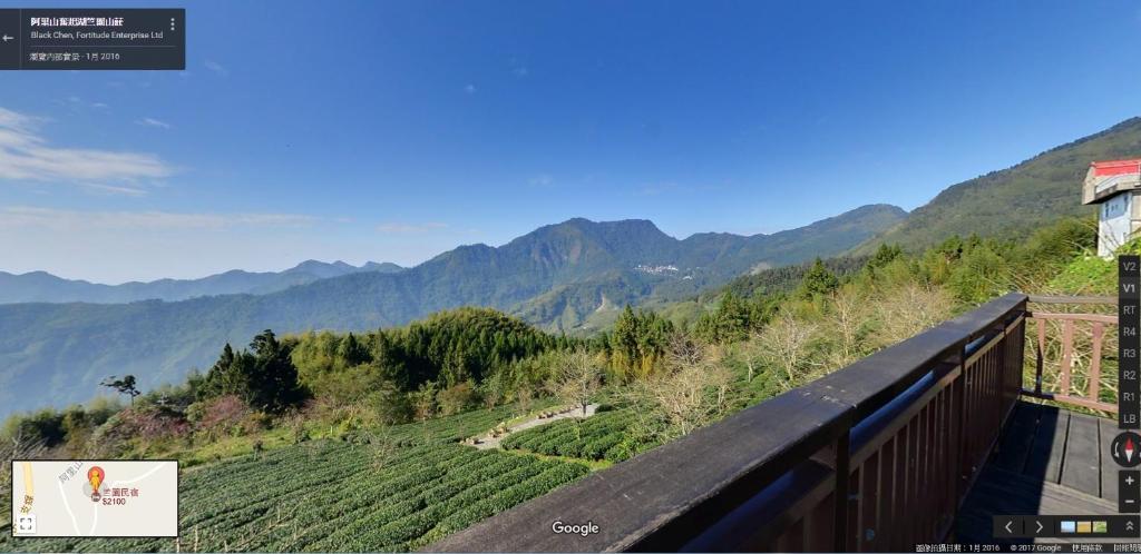 山景或從民宿拍的山景