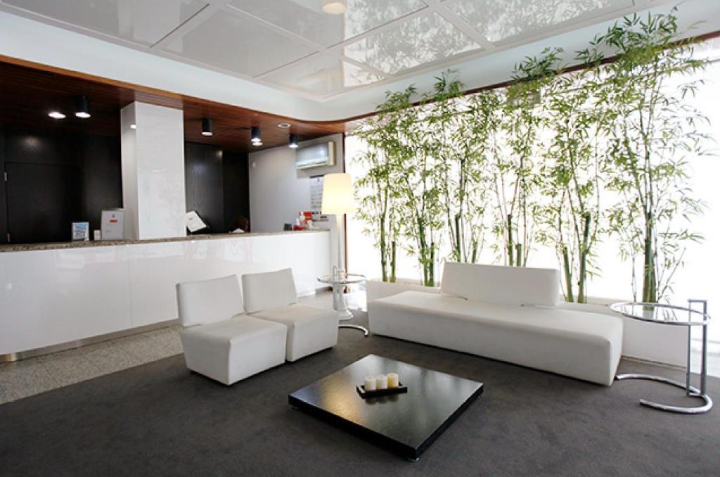 The lobby or reception area at Hotel Costa de Prata 2 & Spa