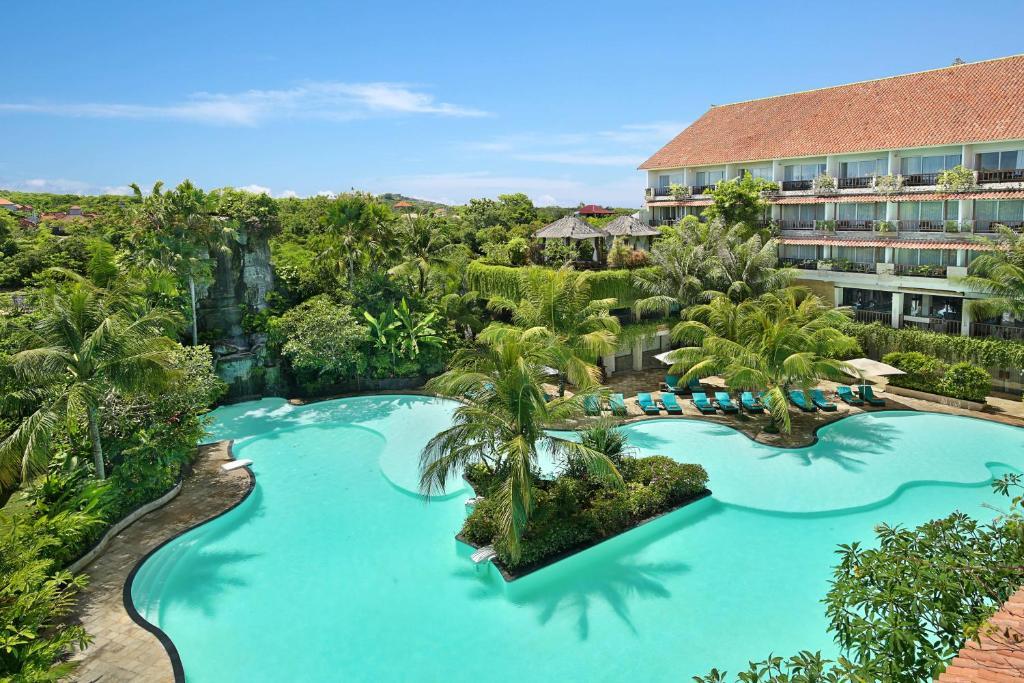 A view of the pool at Swiss-Belhotel Segara Resort & Spa or nearby