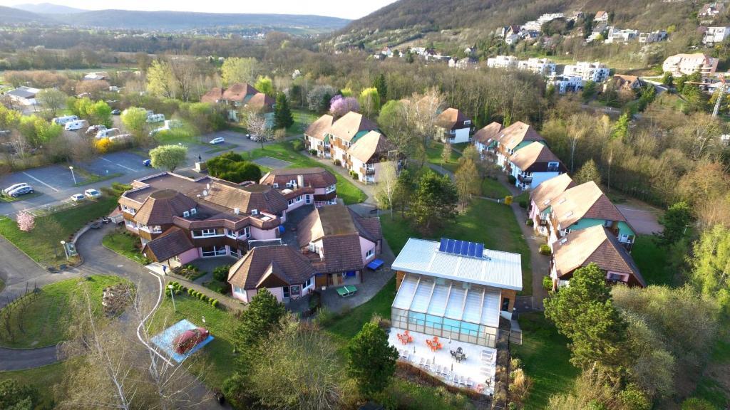 A bird's-eye view of VVF Villages « La Plaine d'Alsace » Obernai