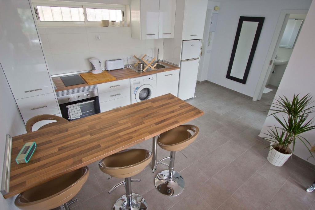 Una cocina o zona de cocina en Apartment Terrace Benalmádena