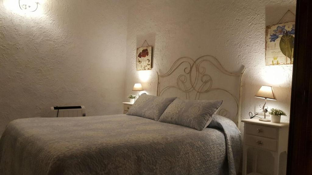 Cama o camas de una habitación en Vivienda Turistica La Arracada