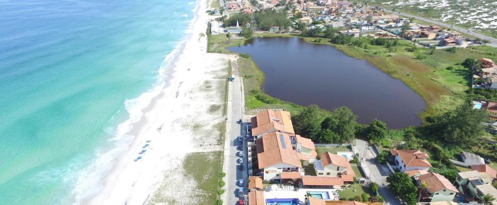 A bird's-eye view of Pousada do Albatroz