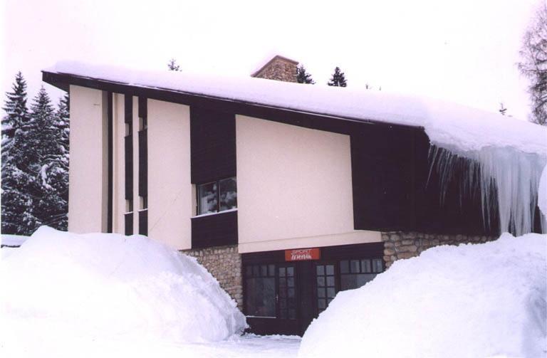 Penzion Sport Čermák v zimě