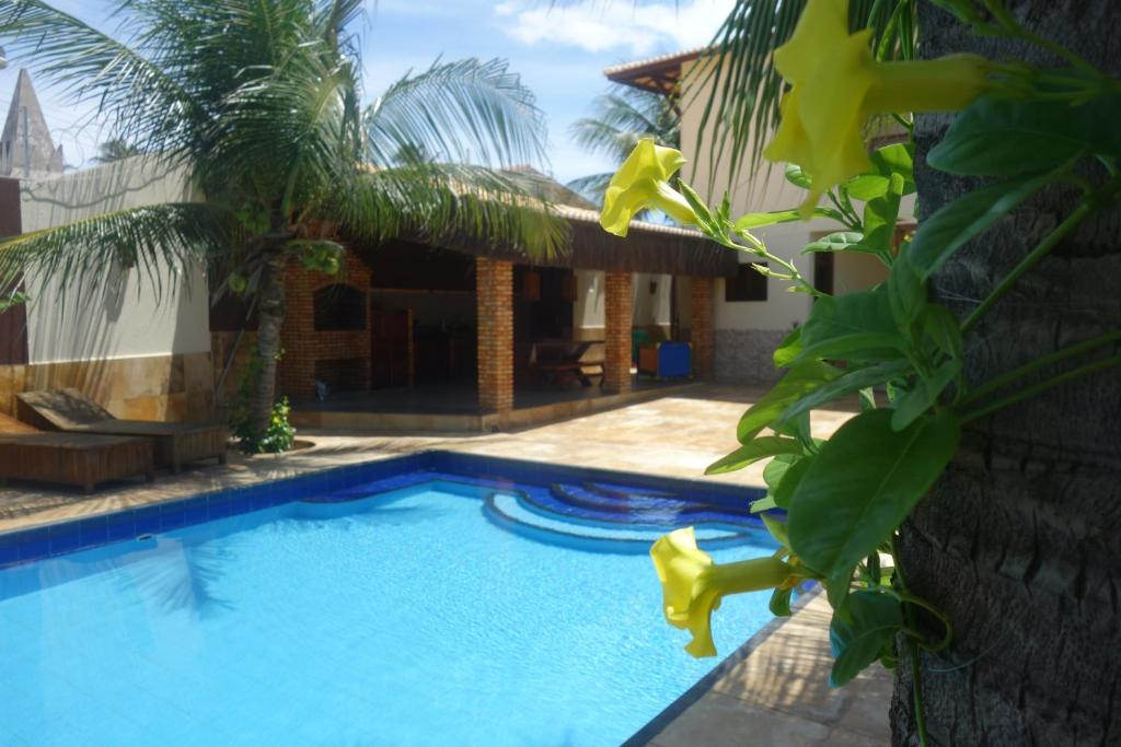 The swimming pool at or near Pousada Morena