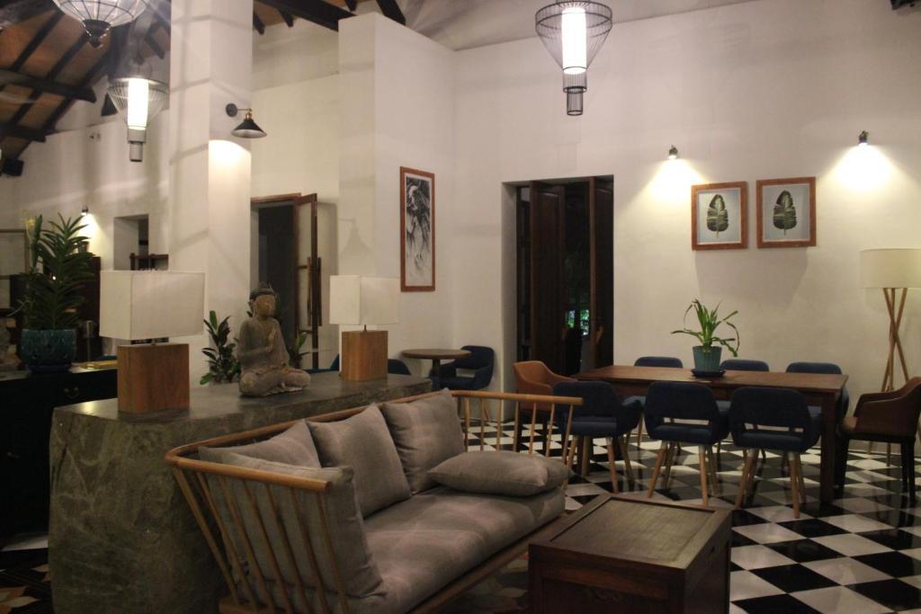 A seating area at Villa Maison Con Dao Boutique Hotel