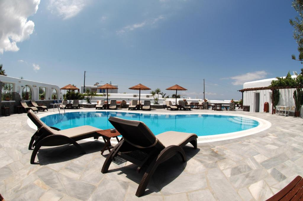 The swimming pool at or near Sofia Village