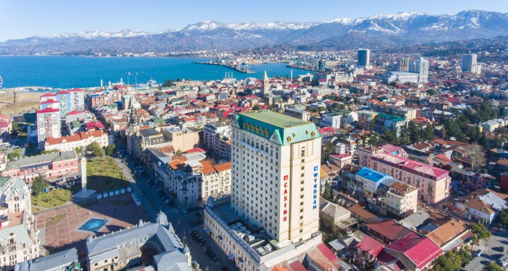 A bird's-eye view of Wyndham Batumi