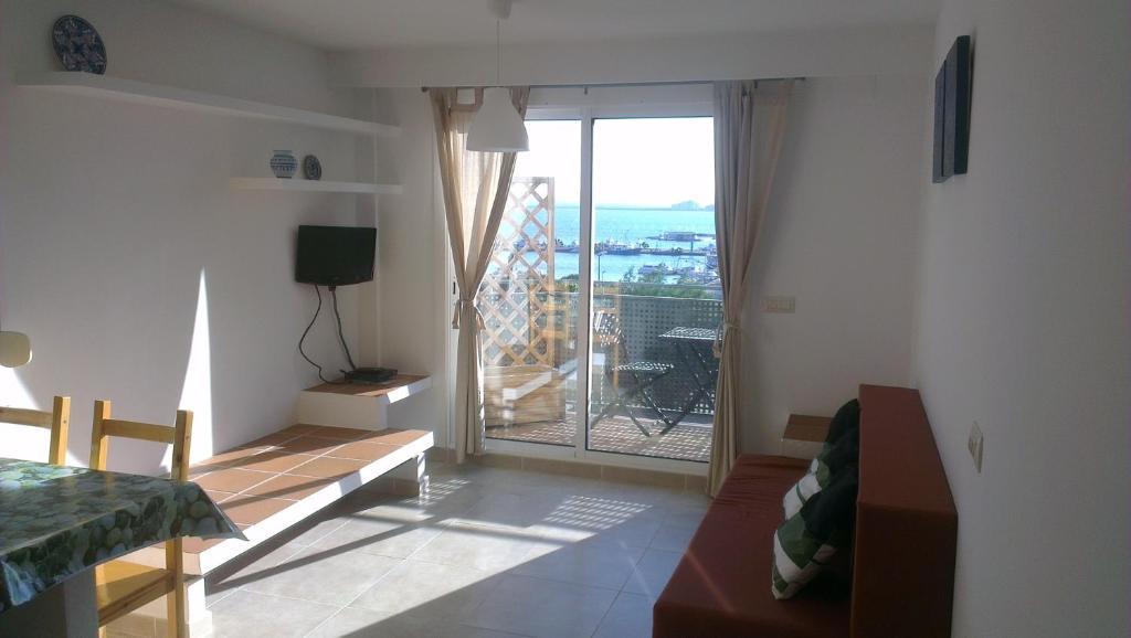 Zona de estar de Apartaments Josep Pla