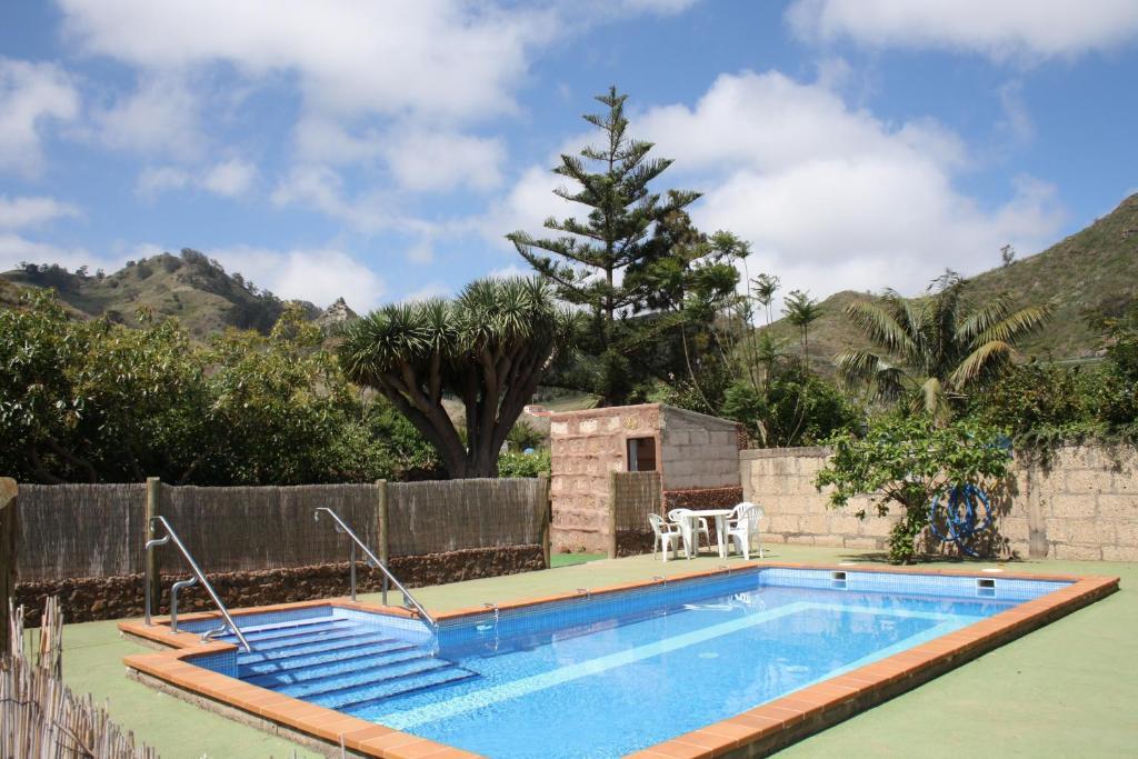 Бассейн в Finca El Vergel Rural или поблизости
