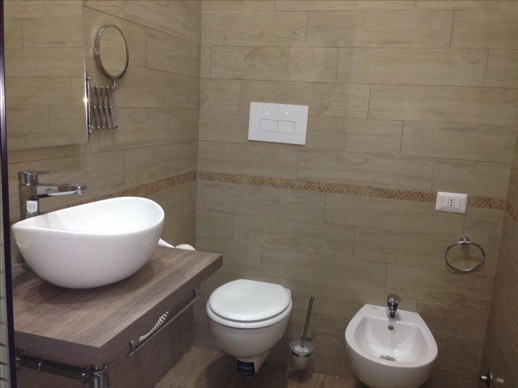 Salle de bains dans l'établissement 'A Funtanella