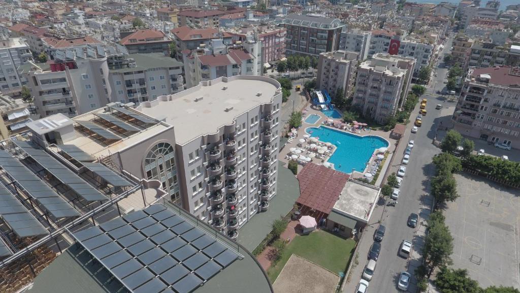 A bird's-eye view of Club Sidar Apart Hotel