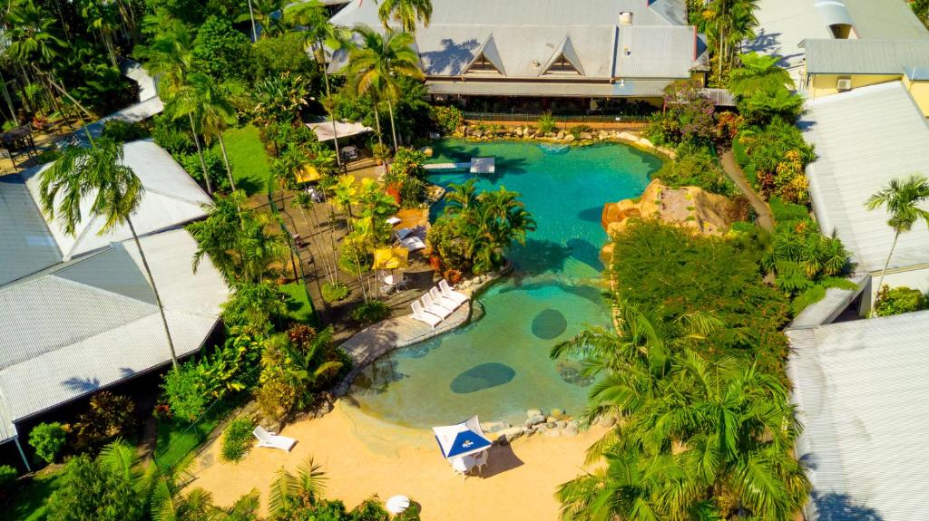 A bird's-eye view of Cairns Colonial Club Resort