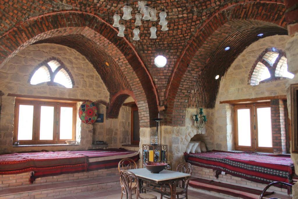 A seating area at Kom El Dikka Agri Lodge