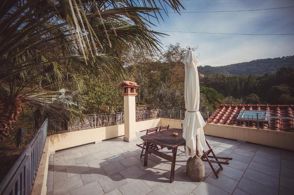 Balcone o terrazza di Casa Vacanze Al Settimo Cielo