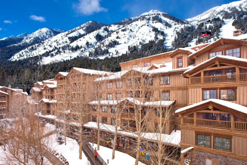 Teton Mountain Lodge and Spa, a Noble House Resort during the winter