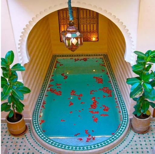 A view of the pool at Riad Rabahsadia or nearby