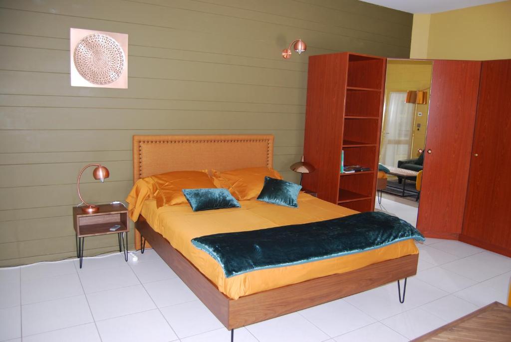 Un ou plusieurs lits dans un hébergement de l'établissement Kerzara - Bed and Breakfast