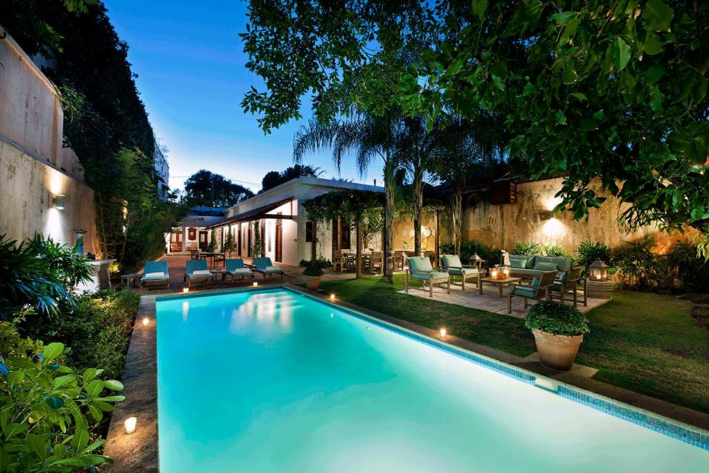 The swimming pool at or near Casas del XVI Boutique Hotel