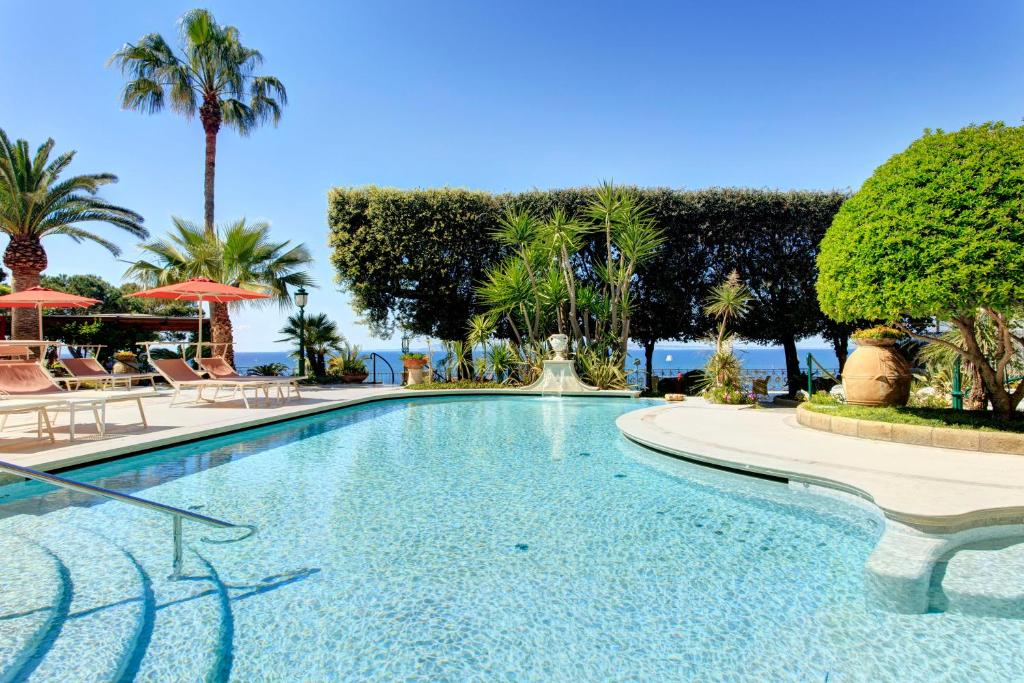 The swimming pool at or near Grand Hotel Ambasciatori