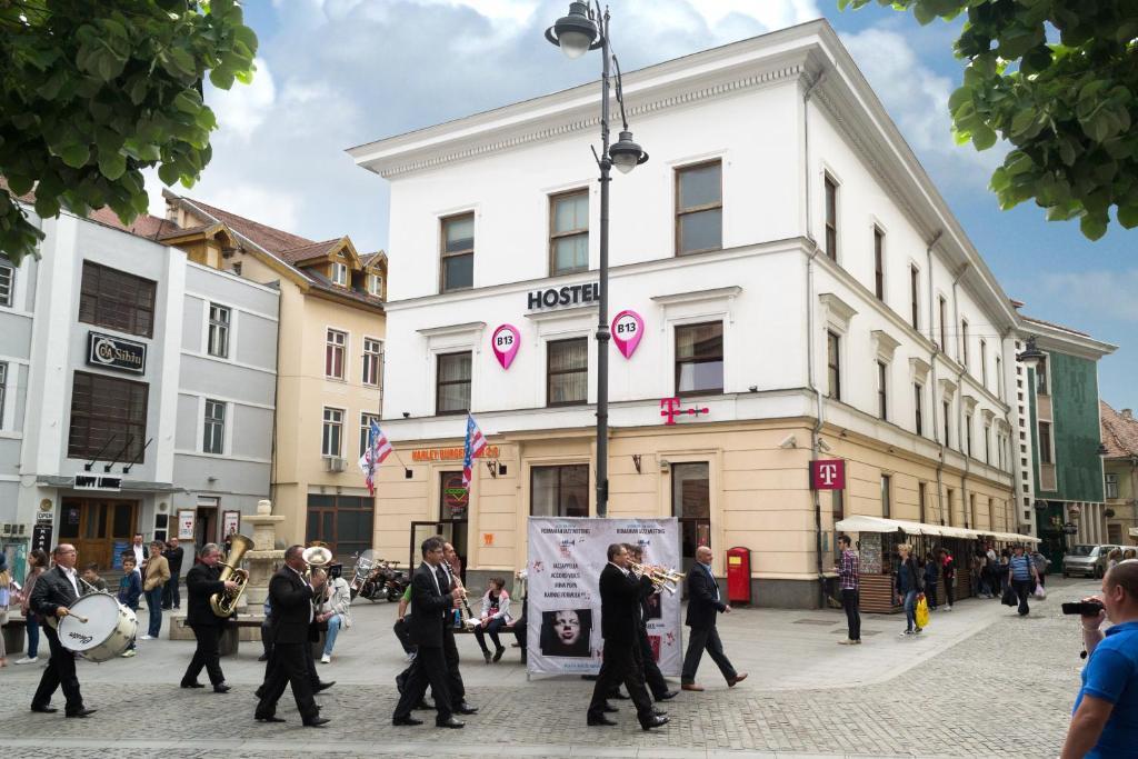 O edifício em que o albergue se localiza