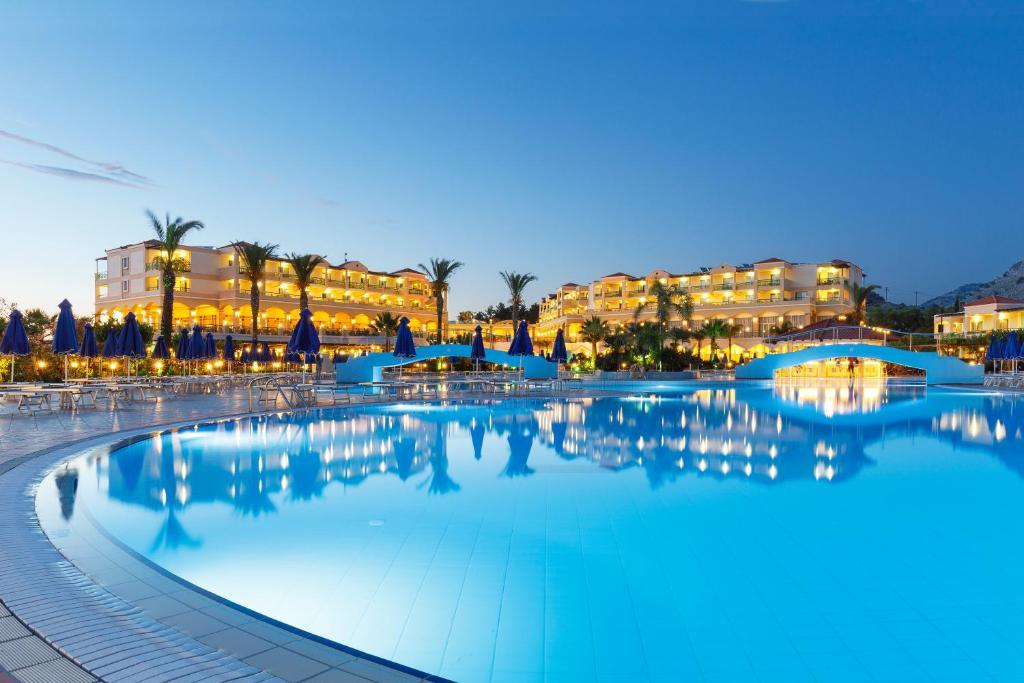The swimming pool at or close to Lindos Princess Beach Hotel