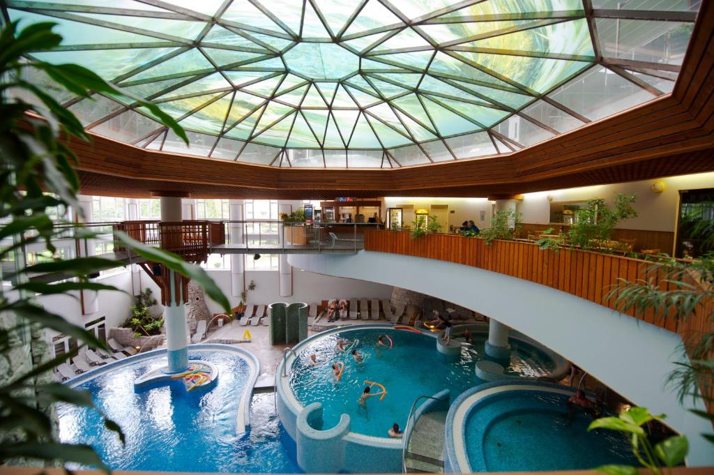 The swimming pool at or close to MenDan Magic Spa & Wellness Hotel