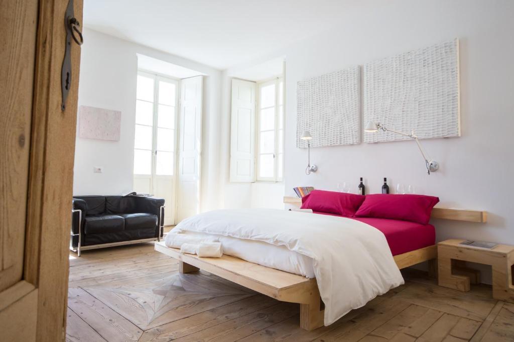 Letto o letti in una camera di winebnb