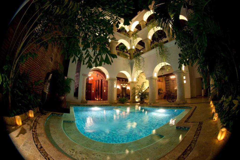 The swimming pool at or near San Pedro Hotel Spa