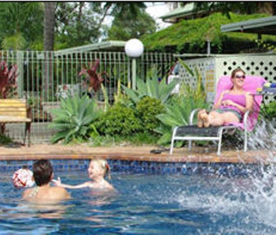 The swimming pool at or near Great Eastern Motor Inn Gympie