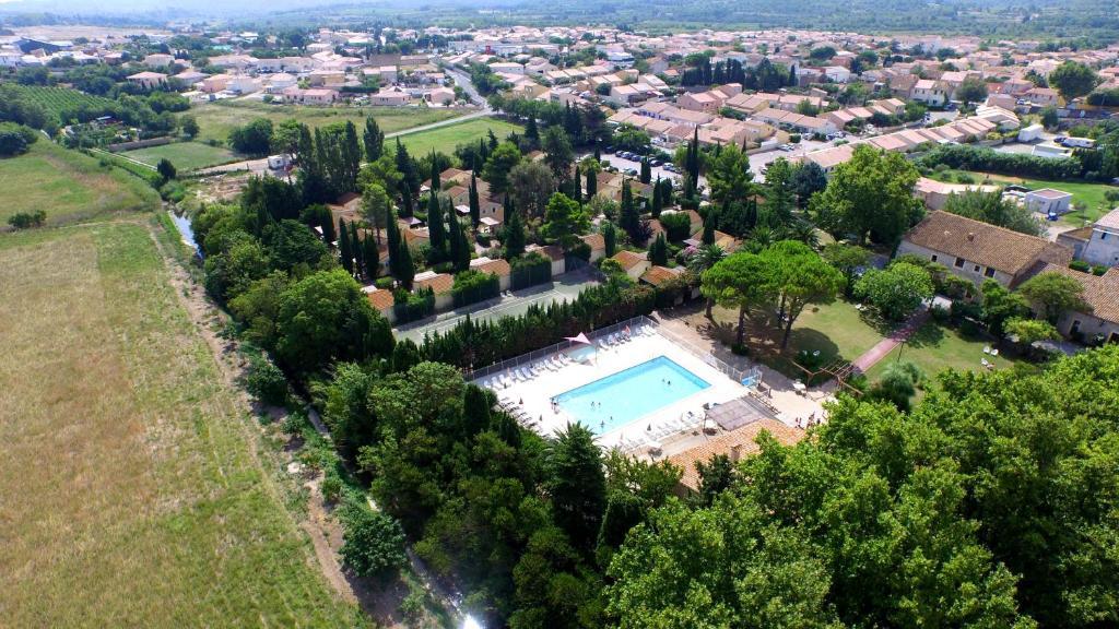 A bird's-eye view of VVF Villages « Le Parc des Salines » Sigean