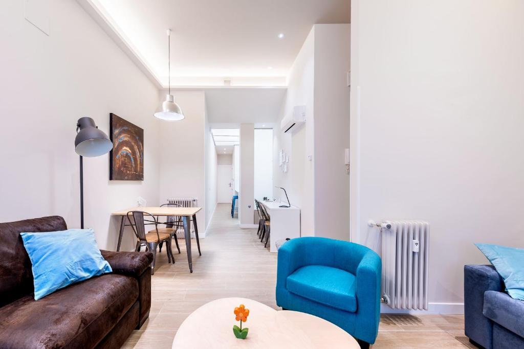 Zona de estar de Apartamento Greco Toledo