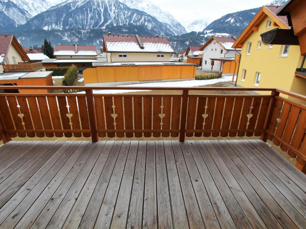 A balcony or terrace at Steinbock und Gemse