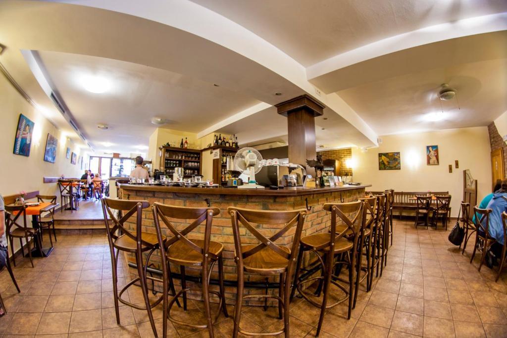 Restaurace v ubytování Penzion Černej pták