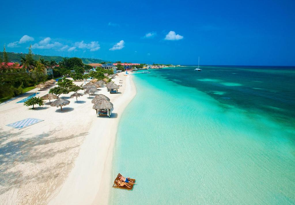 A bird's-eye view of Sandals Montego Bay All Inclusive - Couples Only