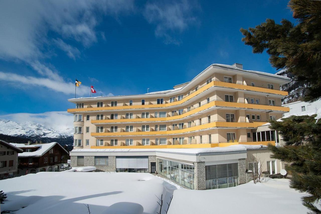 Отель  Hotel Schweizerhof Pontresina