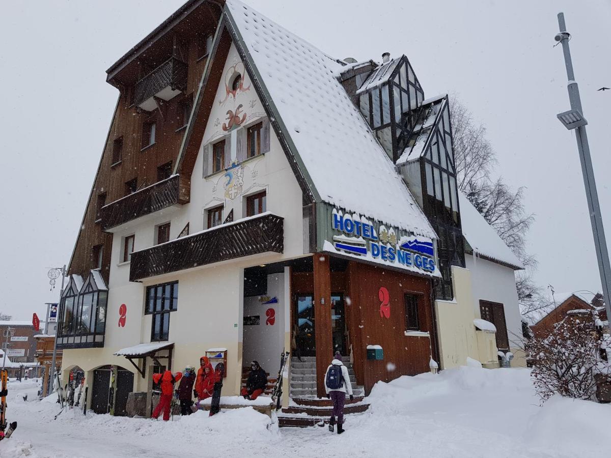 Отель  Hotel Des Neiges