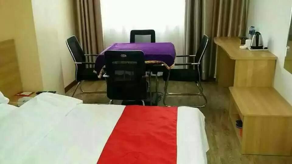 Отель  Thank Inn Chain Hotel Shanxi Yuncheng Railway Station