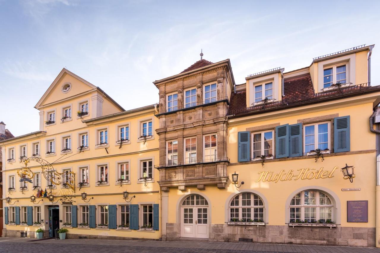 Фото Отель Historik Hotel Goldener Hirsch Rothenburg